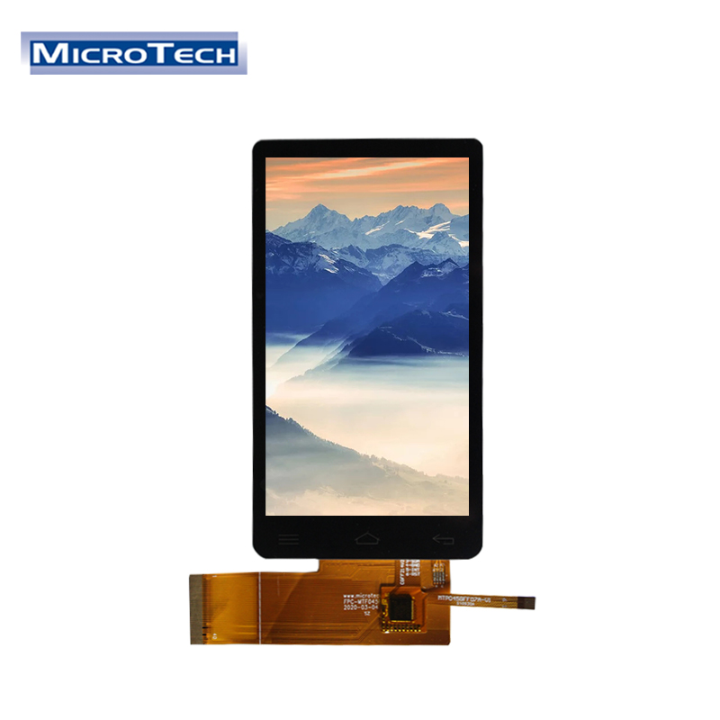 4.5 inch 480x854 IPS TFT All View LCM Module with 10 Points Capacitive Touch Screen Module