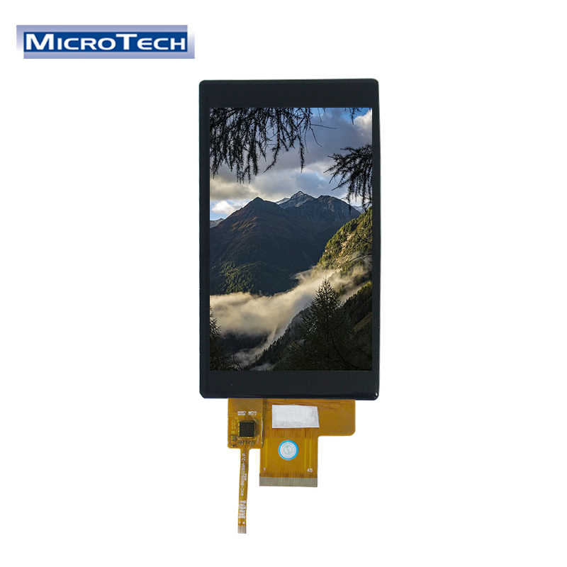 ILI9806E GG 5.0 inch TFT 16M Colors 480x854 Dots All Viewing Angle IPS 10 Pointes Touch TFT LCD Module