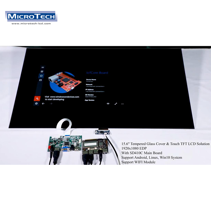 15.6 inch 1920x1080 Scren with Rockchip px30 Quad-core Cortex-A35 Industrial Grade Core Board Android 8.0 System On Board Solution